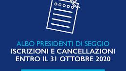 Notizia Studio Amica - ISCRIZIONE ALBO DEI PRESIDENTI DI SEGGIO