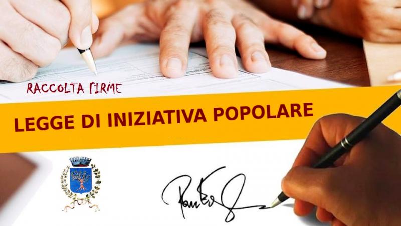Notizia Studio Amica - Raccolta firme per progetto di legge di iniziativa popolare